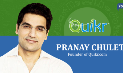 Founder Of Quikr, Pranay Chulet